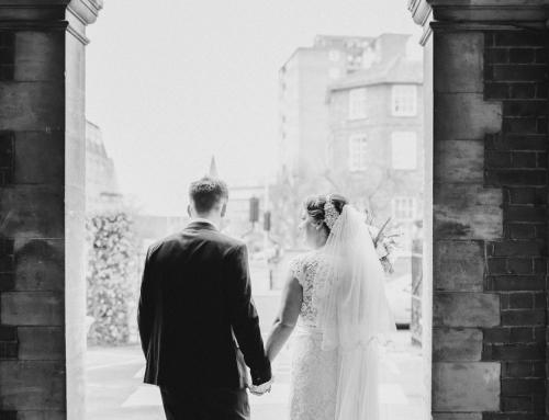 Hannah & Adam Romantic Winter Real Wedding